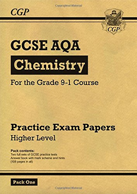 New Grade 9-1 GCSE Chemistry AQA Practice Papers: Higher Pa (Paperback) New Book