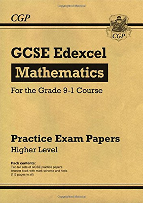 New GCSE Maths Edexcel Practice Papers: Higher - for the Gr (Paperback) New Book