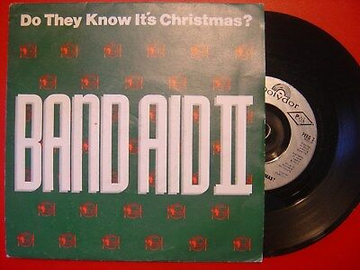 BAND AID II do they know it´s christmas UK POLYDOR 1989