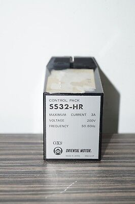 Oriental Motor Control Pack SS32-HR  3A 200V 50/60Hz