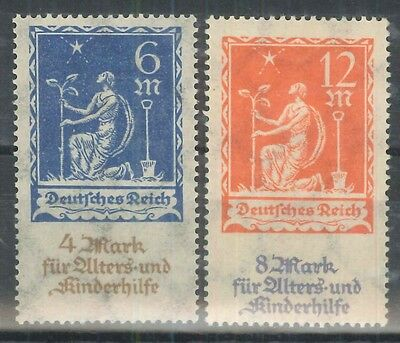 GERMANIA REICH 1922 - TL (catalogo n.° 237/238) (6359)