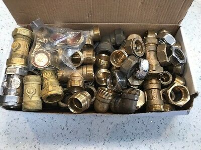 Compression Fittings, 22mm, Job Lot, Plumbing & Gas Fittings