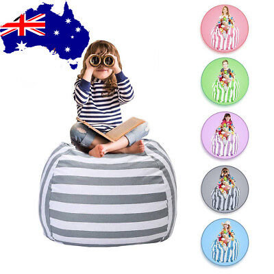 EXTRA LARGE Stuffed Animal Toy Storage Bean Bag Cover Kids Bean Cover Soft Seat
