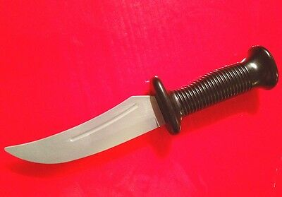 Knife Prop REALISTIC fake toy Flexible Rubber Blade Knives Stage Play FiLm MoViE