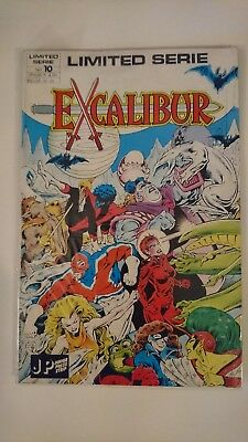 Marvel Excalibur the Sword is Drawn Limited *Dutch Edition*
