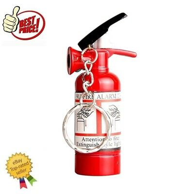 Mini Fire Extinguisher Butane Jet Lighter Cigar Cigarette Butane Lighter Torch