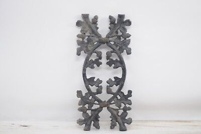 Vintage Cast Iron Salvage Acorns and Leaves Decorative Fencing Salvage #2