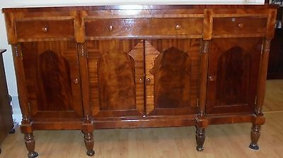 1790's-1820's EMPIRE CHERRY SHERATON SIDEBOARD BUFFET