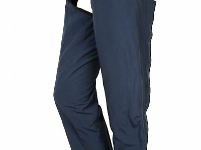Dublin Waterproof Nylon Full Chaps Navy - Choose Size X-Large