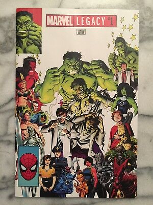 Marvel Legacy #1 eBay Exclusive McKone NM Or Better See 12 Pics New Unread 2017