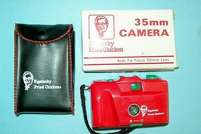 1980s Kentucky Fried Chicken 35mm Camera with 50mm Lens by Halco-Mint/Never Used