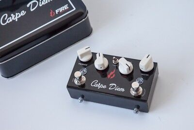 "CARPE DIEM / Fire Custom Shop - ""Marshall in a Box"" Boutique - Overdrive Pedal"