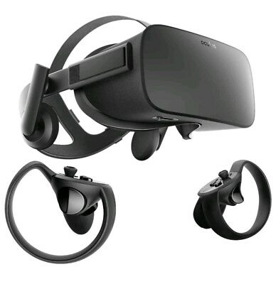 Oculus Rift VR Headset & Touch Bundle - Full virtual reality experience - NEW