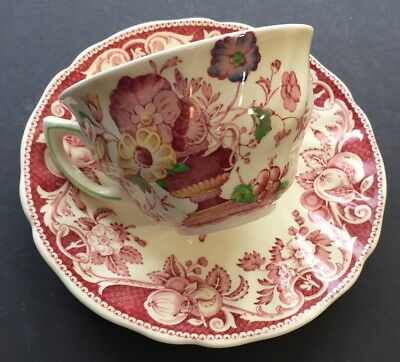 Pomeroy Royal Doulton Vintage Cup and Saucer Tea Demitasse Made in England