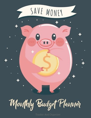 Monthly Budget Planner: Weekly Expense Tracker Bill Organiz (Paperback) New Book