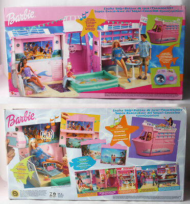 Very Rare 2002 Barbie Tropical Cruise Ship Playset Mattel New Sealed Nos !