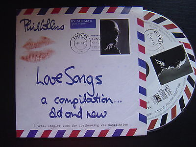 PHIL COLLINS love songs a compilation old and new CD SINGLE PROMOTIONAL 2004