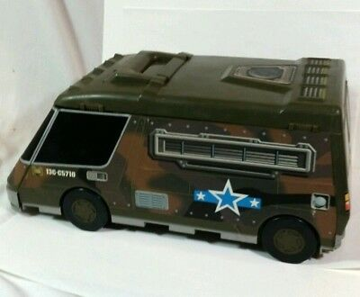 Micro Machines Army Super Van Play Set Galoob 1991 vintage toy Foldout pop out