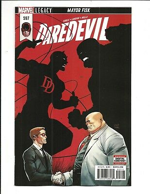 DAREDEVIL # 597 (Marvel Legacy, MAR 2018), NM NEW