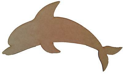 Dolphin - Wooden Cut-out - 470x215mm