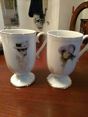 set of Elegance coffee/tea cups