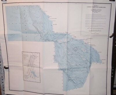 4 Plates (maps) of Current Pacific OCS Leasing Area, U.S. dept. of the Int. 1984