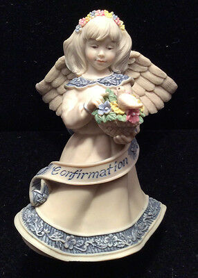 """NEW """"Confirmation"""" Cast Resin Angel from Sarah's Angels"""