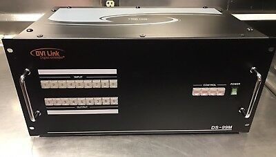 RTcom DVI Link Matrix DS-99M 9x9 Channel Input/Output Switcher w/ Case
