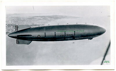 Vintage 1930's B&W aircraft  photos of blimps, dirigibles, zeppelins, airships