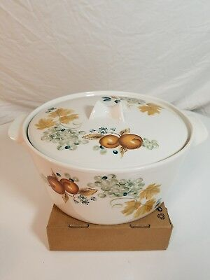 Iroquois Informal Old Orchard 4 qt Casserole UNUSED condition!!!