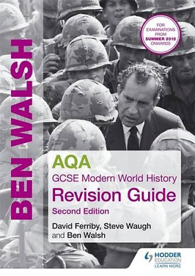 AQA GCSE Modern World History Revision Guide 2nd Edition (Paperback) New Book