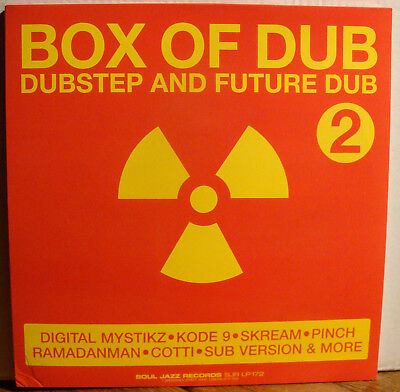 3LPs BOX OF DUB 2 - DUBSTEP AND FUTURE DUB  2007  Skream Kode 9 Pinch Cotti