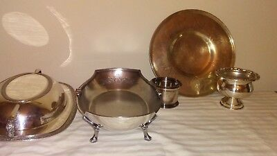 Silver plate lot Various makers. Nice! Free Shipping