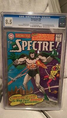 Showcase #60 CGC 8.5 1st app of the Spectre in Silver Age 1966