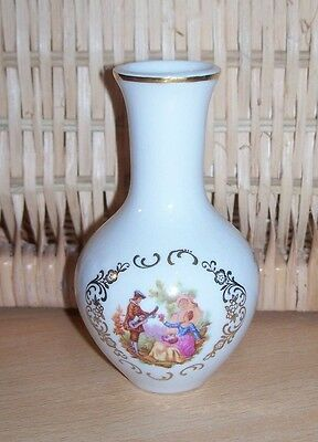 Limoges France Porcelain Vase