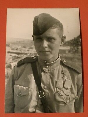Russian WW2 Soldier Photo