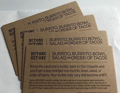 Chipotle Mexican Grill BOGO DEAL (4)