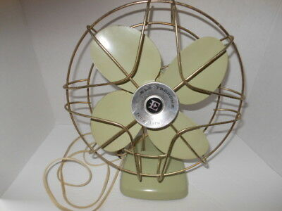 Electrohome Long Life Vintage Table Fan