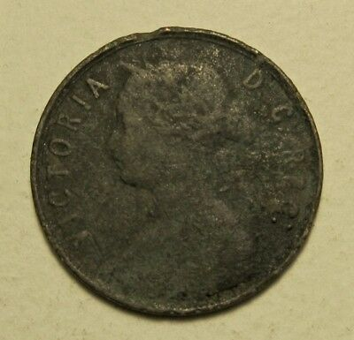 1865 Newfoundland  Large  Cent -  1St Year In Series - Auction Lot