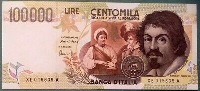 Italy  Copy Of 100000 100 000 Lire  From 1994 , Reproduction , Not A Real Note