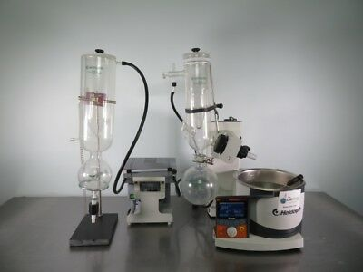 Heidolph Hei-VAP Precision Rotary Evaporator with C Glass Assembly with Warranty