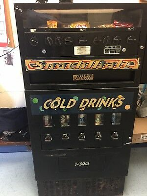 Vending Machine - Refrigerated Drink & Snack Combo