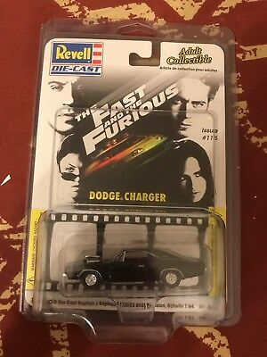 *1970 DODGE CHARGER* FAST & THE FURIOUS 1/64 SCALE In Protector! REVELL