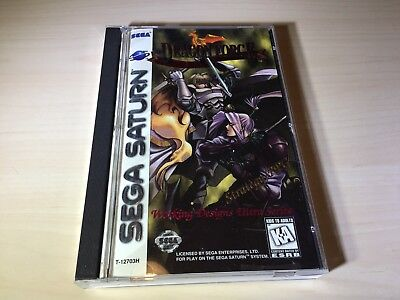 Dragon Force Sega Saturn Original Game Complete In Case Mint Condition