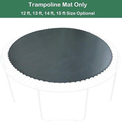 Round Trampoline Mat Spare Parts Replacement for 12 13 14 15' Frame with V-Rings