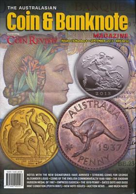 The Australasian Coin and Banknote Magazine, September 2013, Volume 16, Number 8