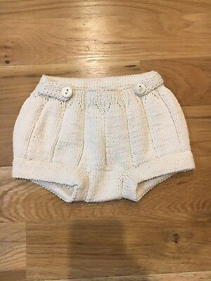 Misha And Puff Pleated Bloomers Natural Size 12/18 Months Baby Boy Girl