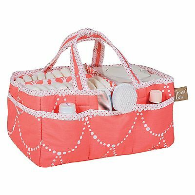 Storage Caddy Coral and White by Trend Lab New D1