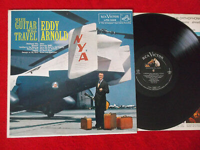 EDDY ARNOLD | Have Guitar, Will Travel | Rare US Country LP RCA 1959