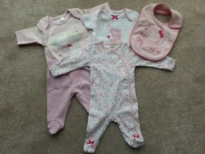 Baby Girl Clothes Bundle Newborn Early Baby Up To 7 5lbs 5 00